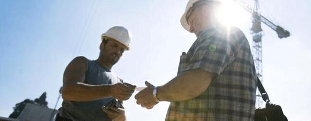 Baustelle Kontrolle