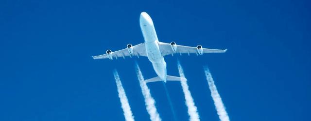 Flugzeug CO2-Emissionen