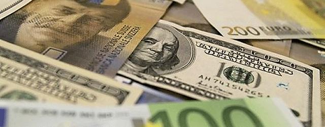 Franken Dollar Euro