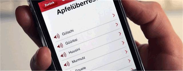 Dialekt App