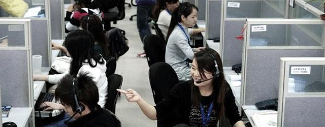China Dienstleister