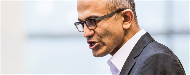 Microsoft-CEO Satya Nadella. (Foto: Microsoft)