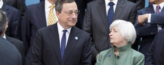 Mario Draghi - Janet Yellen
