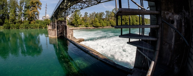 CKW Wasserkraftwerk Rathausen