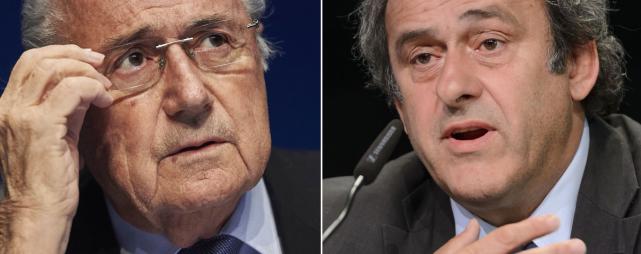 Joseph Blatter - Michel Platini