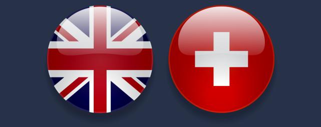 Schweiz Grossbritannien