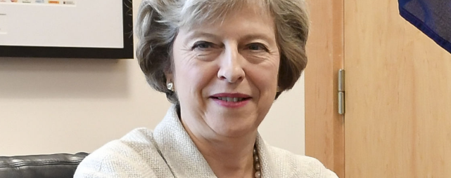 Theresa May - Grossbitannien