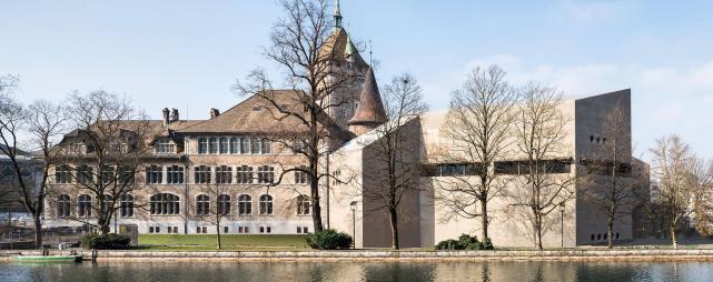 Landesmuseum Zürich mit Anbau