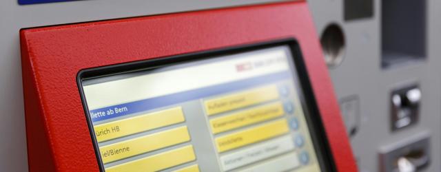 SBB Billet-Automat (Bild: SBB)