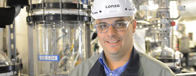 Jörg Solèr, Standortleiter Werk Visp bei der Lonza AG