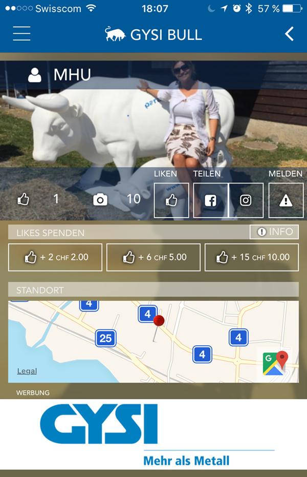 iTrust App für den Zuger Stierenmarkt