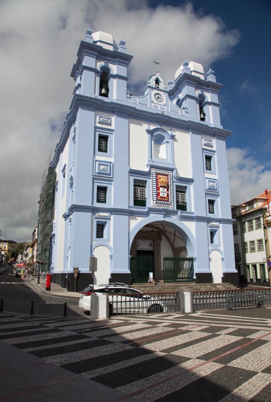 UNESCO-Weltkulturerbe: Angra do Heroísmo auf der Insel Terceira. (Foto: ps - für Vergrösserung klicken)