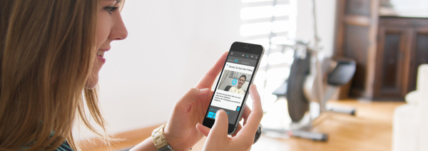 So sieht ein Video-Impuls auf der App «digitaler Coach» von iTrust aus. (Foto: iTrust)