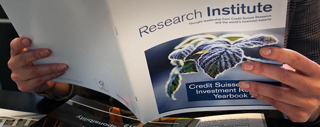 Credit Suisse Research Institute